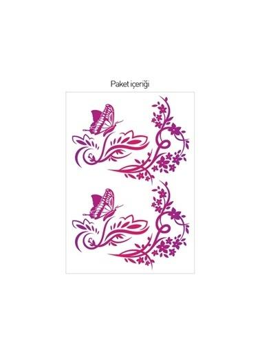 Disney Kelebekler-1 Priz Sticker Renkli